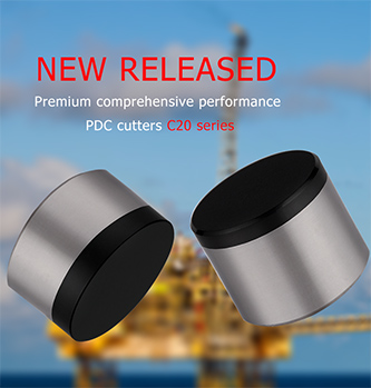 Premium Comprehensive Performance PDC Cutters C20 Series was Released