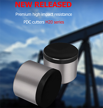 New Released-Premium High Impact Resistance PDC Cutters - H20 Series