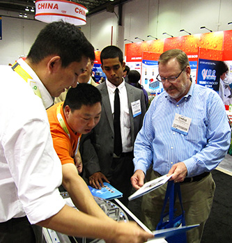 HMR attended 2014 OTC exhibition in USA